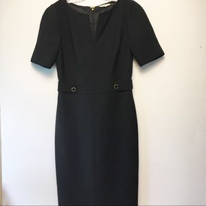 Tory Burch Lined Casual Black Dress Size 6
